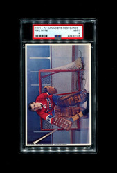 1971 PHIL MYRE MONTREAL CANADIENS POSTCARDS PSA 9
