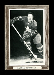 1964-67 BOB PULFORD BEE HIVE GROUP III PHOTO MAPLE LEAFS *NUMBER ON SLEEVE