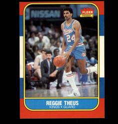 1986 REGGIE THEUS FLEER #108 KINGS *2394