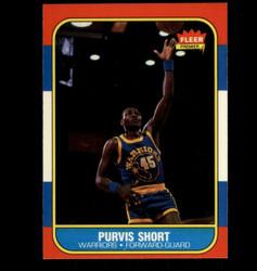 1986 PURVIS SHORT FLEER #100 WARRIORS *7770