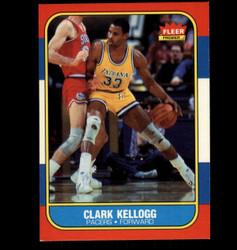 1986 CLARK KELLOGG FLEER #58 PACERS *5163
