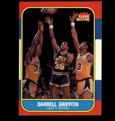 1986 DARRELL GRIFFITH FLEER #42 JAZZ *8037