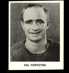 1965 VAL FONTEYNE COKE NHL COCA COLA RED WINGS *R1359