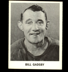 1965 BILL GADSBY COKE NHL COCA COLA RED WINGS *R1250