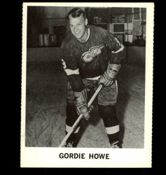 1965 GORDIE HOWE COKE NHL COCA COLA RED WINGS *R1350