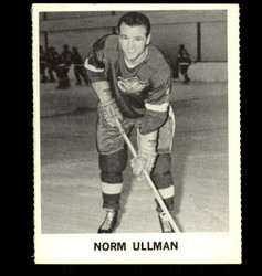 1965 NORM ULLMAN COKE NHL COCA COLA RED WINGS *R1137