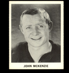 1965 JOHN MCKENZIE COKE NHL COCA COLA BLACK HAWKS *R1348