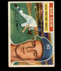 1956 BOB GRIM TOPPS #52 YANKEES VG *R1409