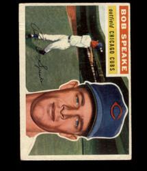 1956 BOB SPEAKE TOPPS #66 CUBS VG *R1427