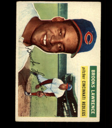 1956 BROOKS LAWRENCE TOPPS #305 REDS EX *R1557