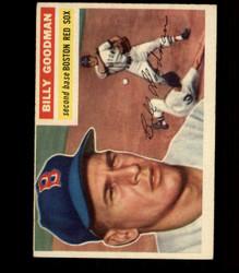 1956 BILLY GOODMAN TOPPS #245 RED SOX EX *R1569