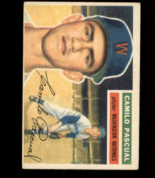 1956 CAMILA PASCUAL TOPPS #98 NATIONALS EX *R1582