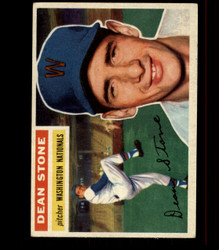 1956 DEAN STONE TOPPS #87 NATIONALS EX *R1590