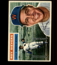 1956 ROY SIEVERS TOPPS #75 NATIONALS EX *R1598