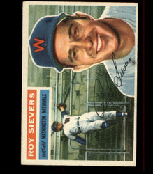 1956 ROY SIEVERS TOPPS #75 NATIONALS EX *R1599