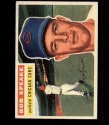 1956 BOB SPEAKE TOPPS #66 CUBS EX *R1602