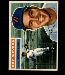 1956 ROY SIEVERS TOPPS #75 NATIONALS EXMT/NM *R1653
