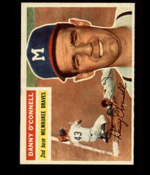 1956 DANNY O'CONNELL TOPPS #272 BRAVES EXMT/NM *R1660