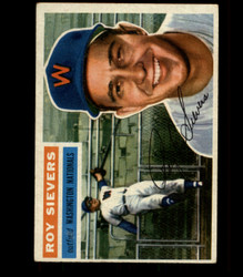 1956 ROY SIEVERS TOPPS #75 NATIONALS VG/EX *R1677