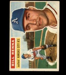 1956 BILL RENNA TOPPS #82 ATHLETICS VG/EX *R1682