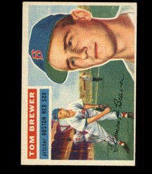 1956 TOM BREWER TOPPS #34 RED SOX VG/EX *R1688