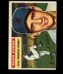 1956 DEAN STONE TOPPS #87 NATIONALS VG/EX *R1749