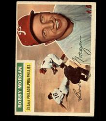 1956 BOBBY MORGAN TOPPS #337 PHILLIES VG/EX *R1700