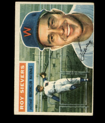 1956 ROY SIEVERS TOPPS #75 NATIONALS VG/EX *R1752