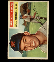 1956 ART HOUTTEMAN TOPPS #281 INDIANS VG/EX *R1727
