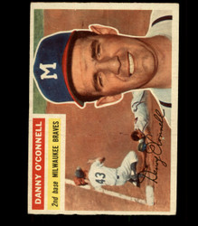 1956 DANNY O'CONNELL TOPPS #272 BRAVES VG/EX *R1729
