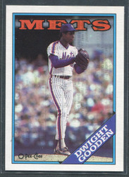 1988 DWIGHT GOODEN OPC #287 O PEE CHEE METS BLACK BACK ONLY #2803