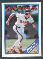 1988 WALLY JOYNER OPC #168 O PEE CHEE ANGELS BLACK BACK ONLY #2798