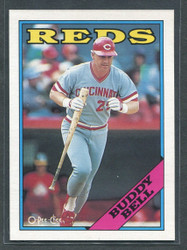 1988 BUDDY BELL OPC #130 O PEE CHEE REDS BLACK BACK ONLY #2806