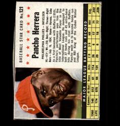 1961 PANCHO HERRERA POST #121 PHILLIES *6931