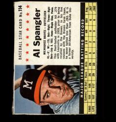 1961 AL SPANGLER POST #114 BRAVES *2960