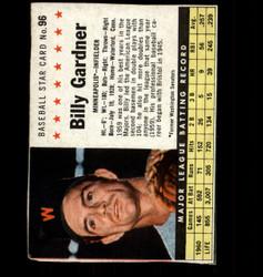 1961 BILLY GARDNER POST #96 TWINS *3832