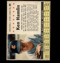 1961 KEN HAMLIN POST #89 ATHLETICS *3164
