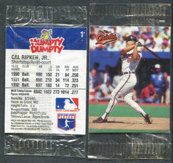 1993 CAL RIPKEN HUMPTY DUMPTY #1 CANADIAN ISSUE SEALED IN PLASTIC!