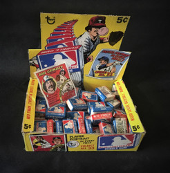 1979 TOPPS BASEBALL COMIC PLAYER PORTRAIT BUBBLE GUM