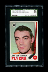 1969 JEAN GUY GENDRON OPC #169 O-PEE-CHEE FLYERS MINT 9 SGC96