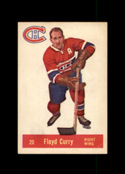1957 FLOYD CURRY PARKHURST #20 CANADIENS VG *1850