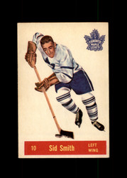 1957 SID SMITH PARKHURST #10 MAPLE LEAFS VG/EX *6047