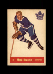 1957 MARC REAUME PARKHURST #12 MAPLE LEAFS GOOD *2025