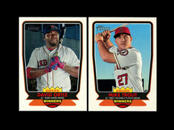 2017 TOPPS HERITAGE HIGH AWARD WINNERS COMPLETE 10 CARD SET