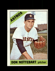 1966 DON NOTTEBART OPC #21 O-PEE-CHEE ASTROS EX/MT *8648