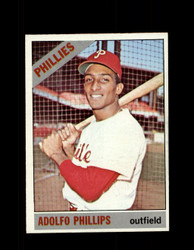 1966 ADOLFO PHILLIPS OPC #32 O-PEE-CHEE PHILLIES NM *3030