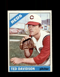 1966 TED DAVIDSON OPC #89 O-PEE-CHEE REDS NM *2860