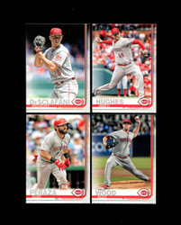 2019 CINCINNATI REDS TOPPS SERIES 2 BASE TEAM SET