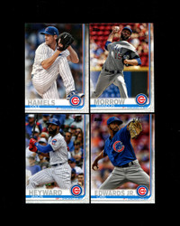 2019 CHICAGO CUBS TOPPS SERIES 2 BASE TEAM SET