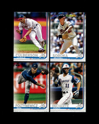 2019 ATLANTA BRAVES TOPPS SERIES 2 BASE TEAM SET